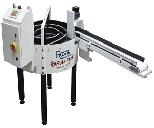 Royal Rota-Rack® Parts Accumulator